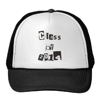 class of 2014 white shirt trucker hat