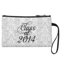 Class of 2014 Wispy Swirl Graduation Wristlet Wallet