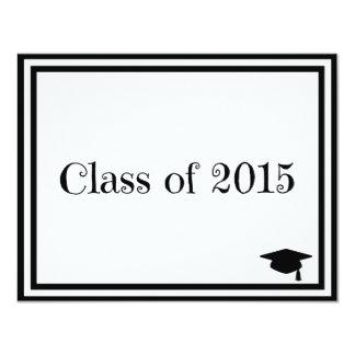 Class of 2015 4.25x5.5 paper invitation card