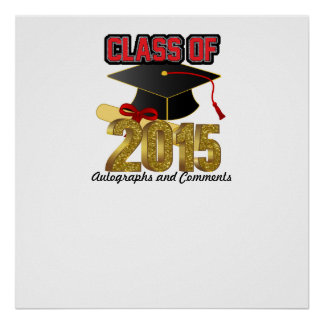 Class of 2015 Autographs Poster