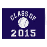 Class of 2015 Baseball Stationery Note Card
