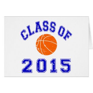Class of 2015 Basketball Card