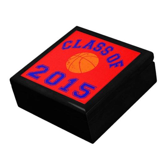 Class of 2015 Basketball Keepsake Box