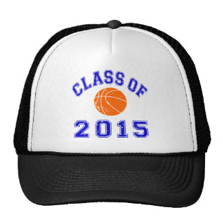 Class of 2015 Basketball Trucker Hat