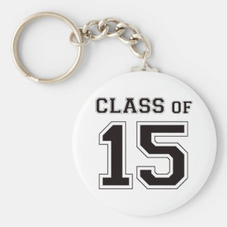 Class of 2015 - Black Keychains