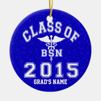 Class Of 2015 BSN Ceramic Ornament