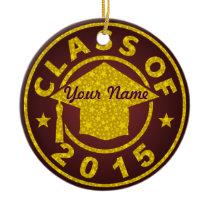 Class Of 2015 Ceramic Ornament