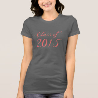 Class of 2015 Coral Tshirts