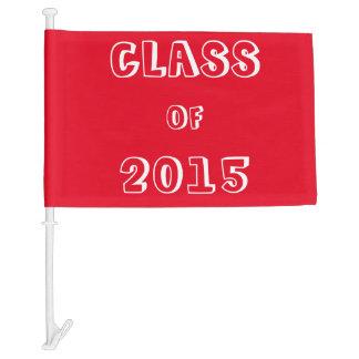 Class of 2015 Customizable Car Flag