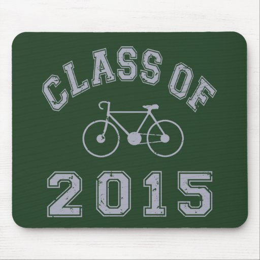 Class Of 2015 Cycling Mouse Pad