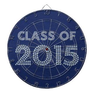 Class of 2015 dartboard with darts