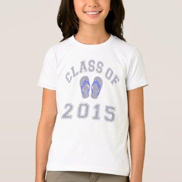Beach Themed Class Of 2015 Flip Flop - Grey 2 T-Shirt
