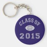 Class Of 2015 Football - Grey 2 Keychain