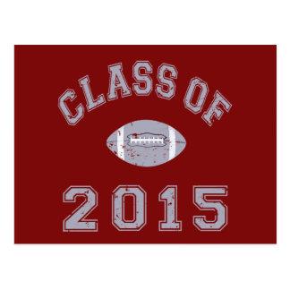 Class of 2015 Football Postcard