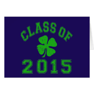 Class Of 2015 Good Luck Stationery Note Card