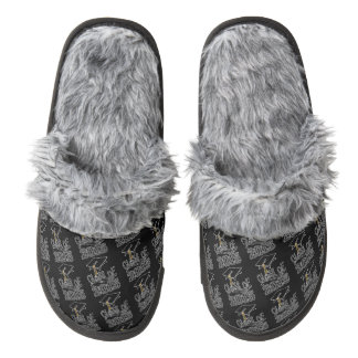 Class of 2015 Graduation Cap Pair Of Fuzzy Slippers