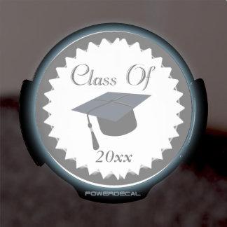 Class Of 2015 Graduation Cap LED Car Window Decal
