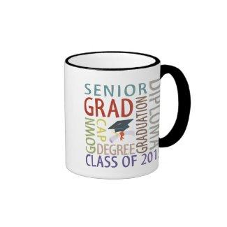 Class of 2015 Graduation Coffee Mugs