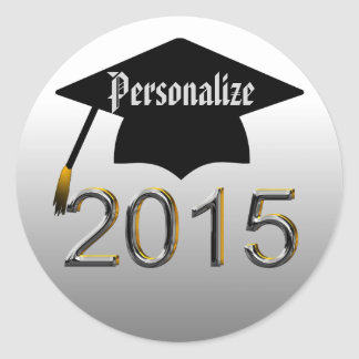 Class Of 2015 Graduation Stickers Seals