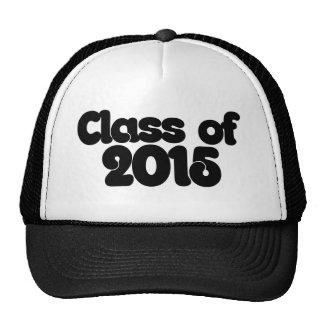 Class of 2015 mesh hats
