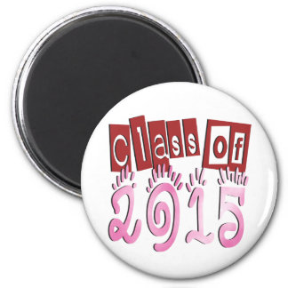 Class OF 2015 2 Inch Round Magnet