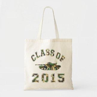 Class Of 2015 Military School - Camo 2 Tote Bag