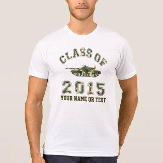 Class Of 2015 Military School Tshirt
