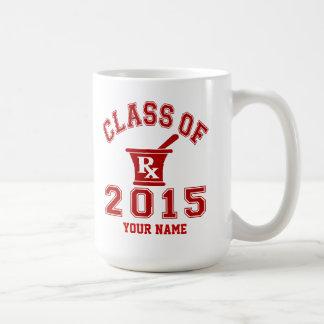 Class Of 2015 Pharmacy Classic White Coffee Mug