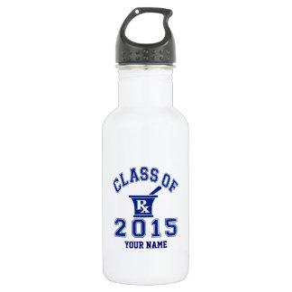 Class Of 2015 Pharmacy 18oz Water Bottle