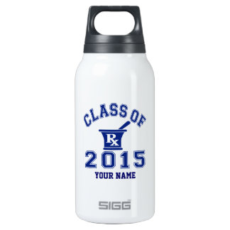 Class Of 2015 Pharmacy 10 Oz Insulated SIGG Thermos Water Bottle