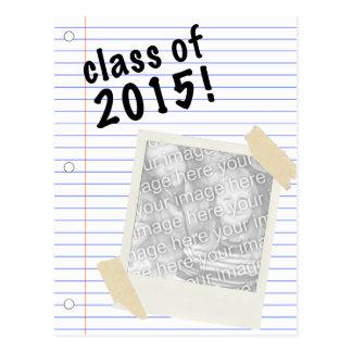 class of 2015! polaroid postcard