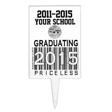 Beach Themed Class of 2015: Priceless | Cake Pick