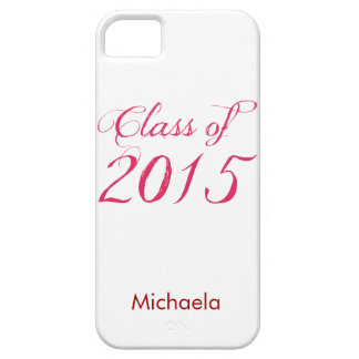Class of 2015 Red iPhone SE/5/5s Case