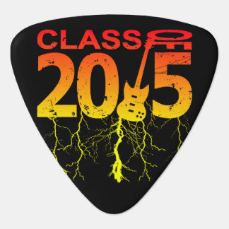 Class Of 2015 Rocks Guitar Pick