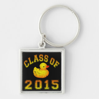 Class Of 2015 Rubber Duckie - Orange 2 Keychain