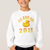 Class Of 2015 Rubber Duckie - Orange 2 Sweatshirt