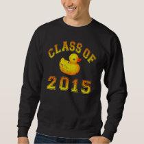 Class Of 2015 Rubber Duckie - Orange 2 Sweatshirt