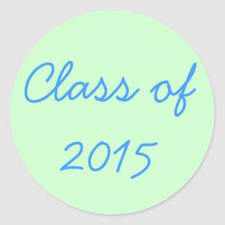 Class of 2015 Stickers