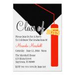 Class Of 2015 Tassel Graduation Invite (Red)