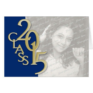 Class of 2015 Thank You Stationery Note Card