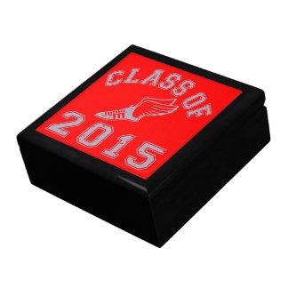 Class Of 2015 Track & Field - Grey 2 Keepsake Box