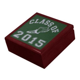 Class Of 2015 Track & Field - Grey 2 Keepsake Boxes