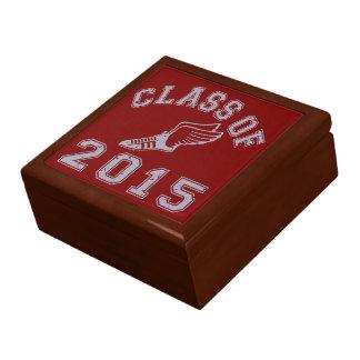 Class Of 2015 Track & Field - Grey 2 Trinket Box