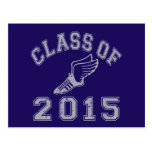 Class Of 2015 Track & Field - Grey 2 Post Cards