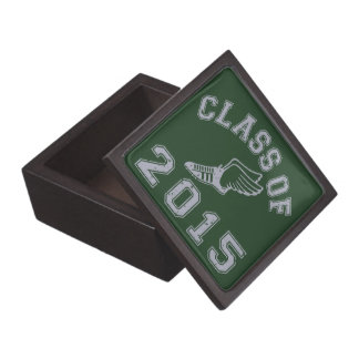 Class Of 2015 Track & Field - Grey 2 Premium Keepsake Box