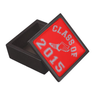 Class Of 2015 Track & Field - Grey 2 Premium Jewelry Boxes