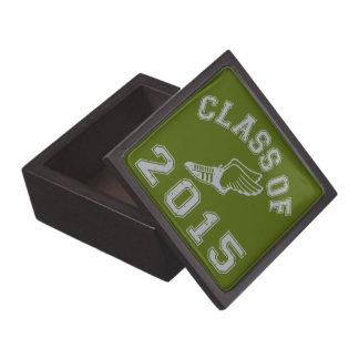 Class Of 2015 Track & Field - Grey 2 Premium Trinket Box