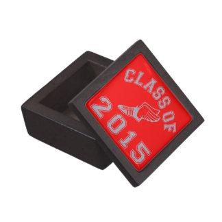 Class Of 2015 Track & Field - Grey 2 Premium Keepsake Boxes