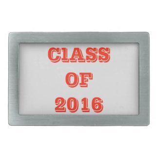 Class of 2016 belt buckle
