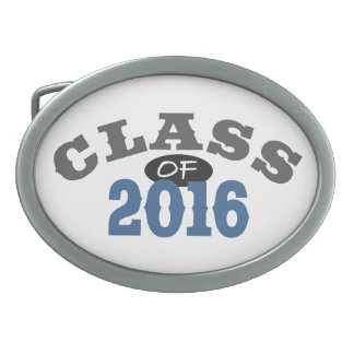 Class Of 2016 Blue Belt Buckle
